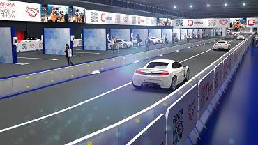 Tor samochodowy na targach Geneva Motor Show 2020