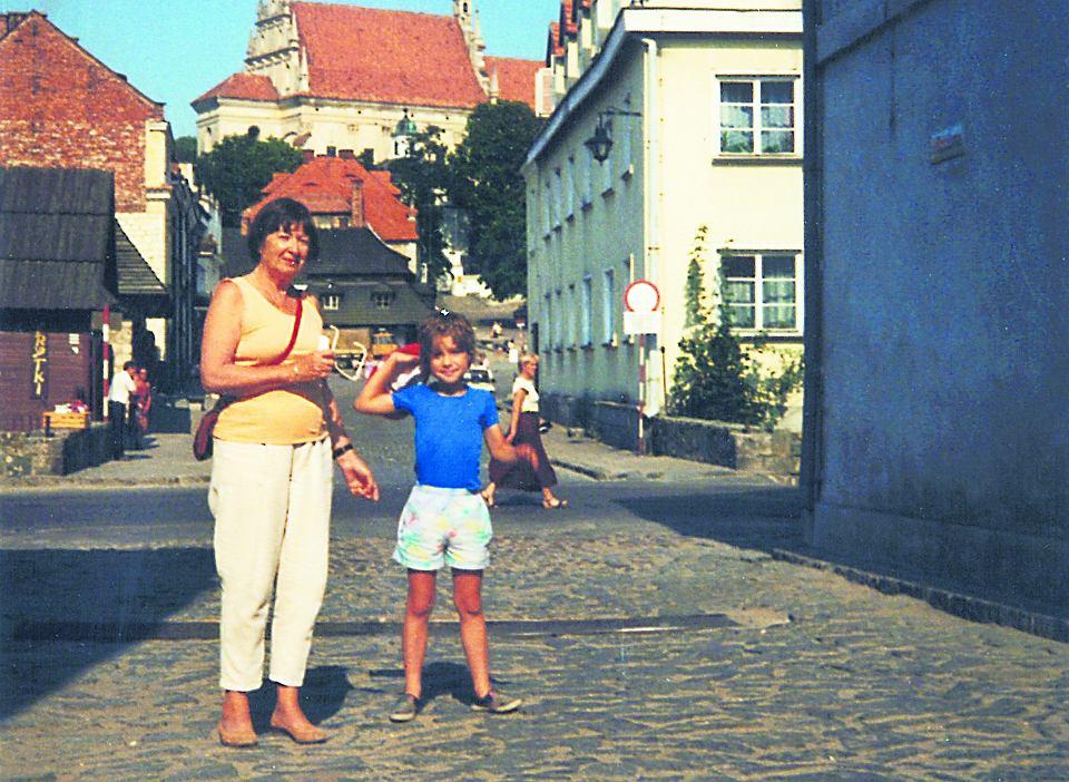 Krzyś Zalewski z Bambunią w Kazimierzu