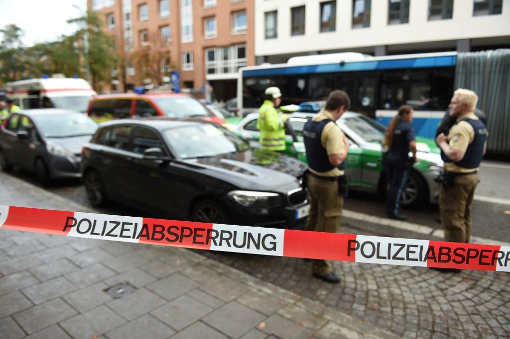 Monachium. Atak nożownika