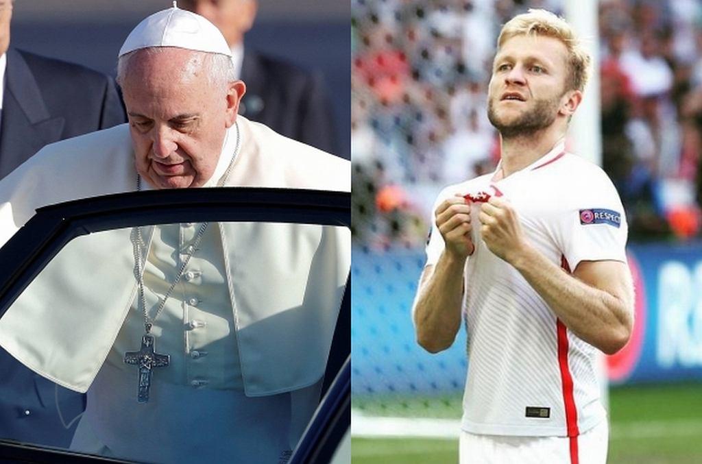 Papież Franciszek, Kuba Błaszczykowski