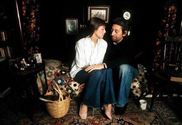 Serge Gainsbourg et Jane Birkin. FRANCE - 1974  277613