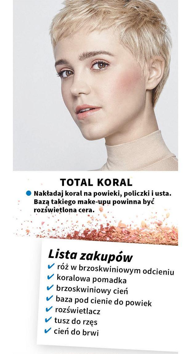 Makijaż w kolorze roku 2019