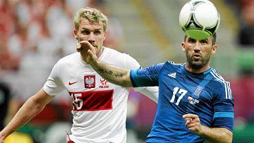 Fanis Gekas wyleciał ze składu Greków na mecz z Czechami
