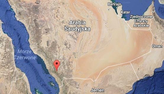 Katastrofa śmigłowca w Arabii Saudyjskiej