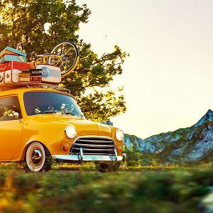 Samochodowe wakacje
