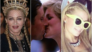 Madonna, księżna Diana, Paris Hilton