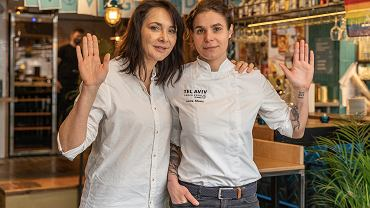 Malka Kafka właścicielka i Laura Monti szefowa kuchni - Tel Aviv Urban Food