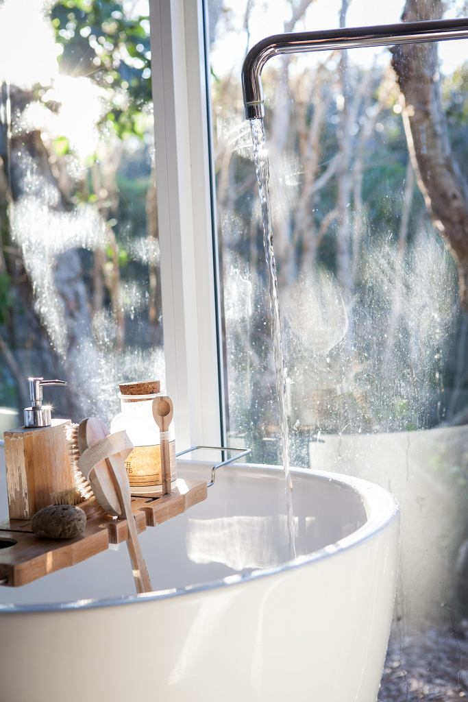 kąpiel w wannie