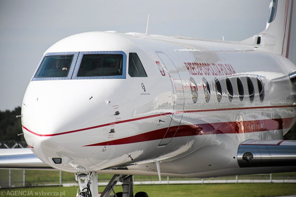 Samolot Gulfstream G550