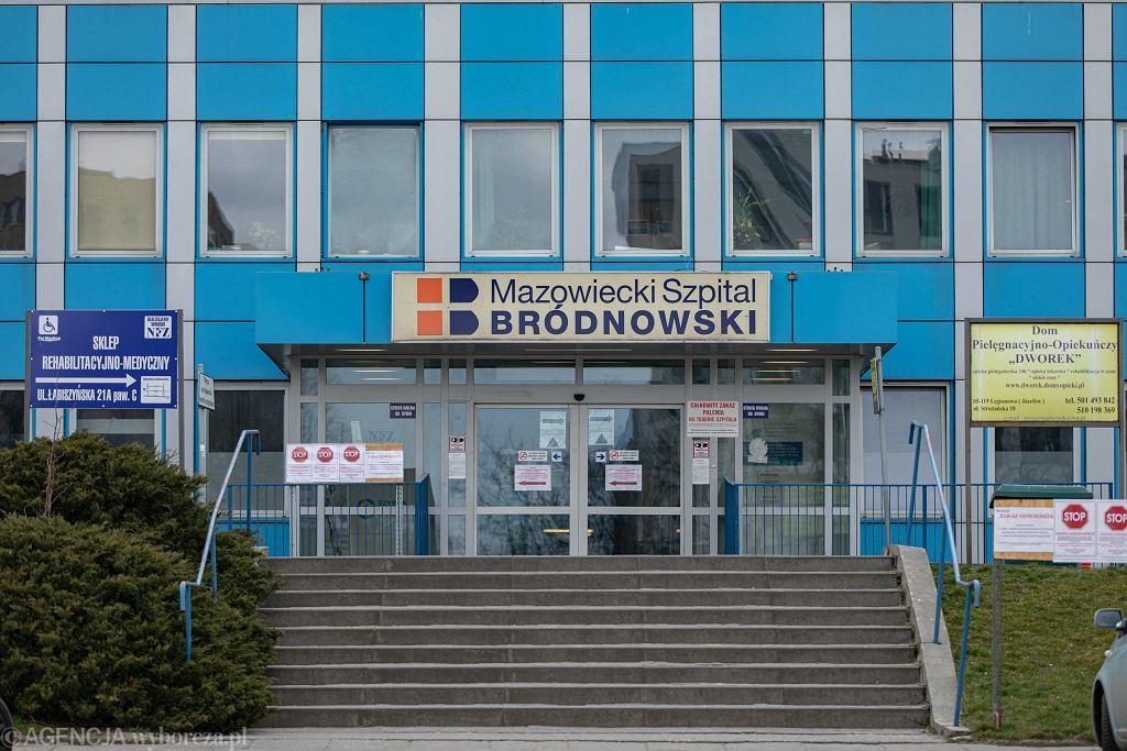 Szpital bródnowski.
