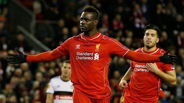 Liverpool - Besiktas Stambuł 1:0.  Mario Balotelli
