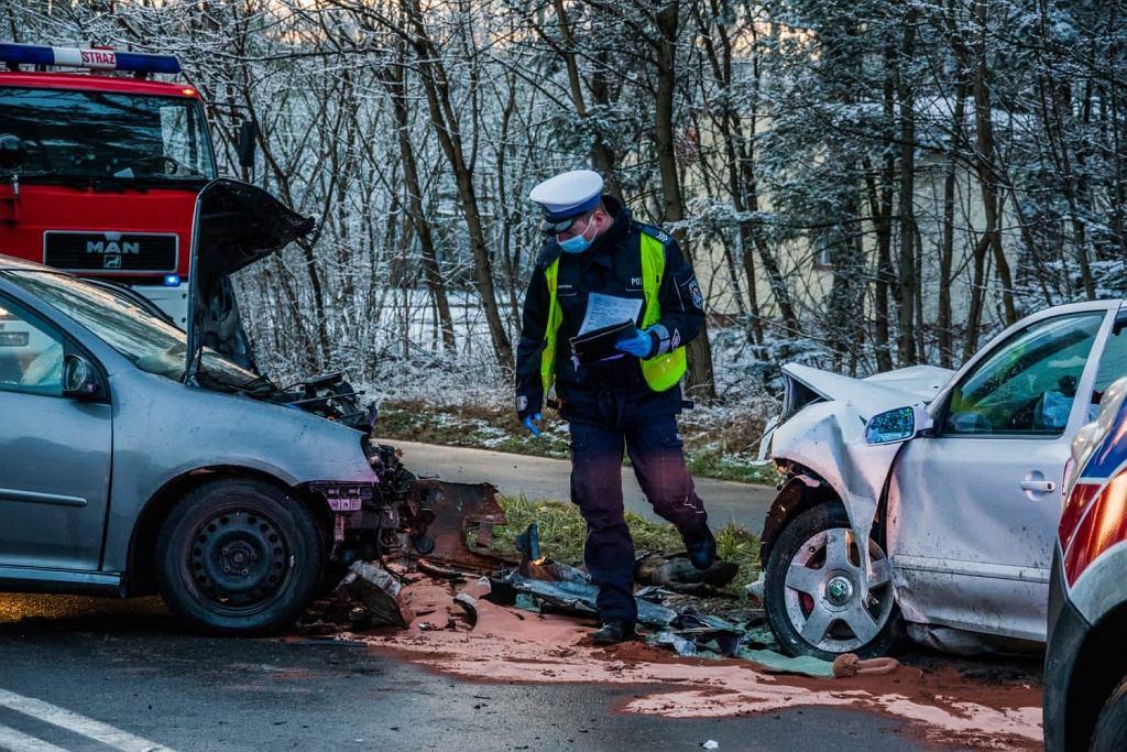 Mężczyzna spowodował wypadek koło Leszna, zginęło niemowlę. Był pod wpływem narkotyków