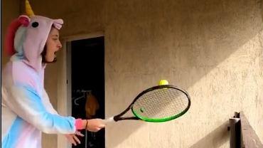 Iga Świątek podejmuje wyzwanie Rogera Federera