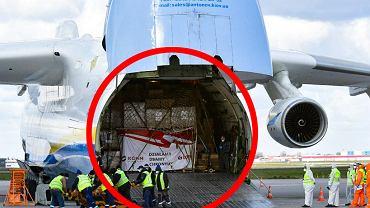 Dlaczego to akurat An-225 przywiózł ładunek z Chin do Polski?