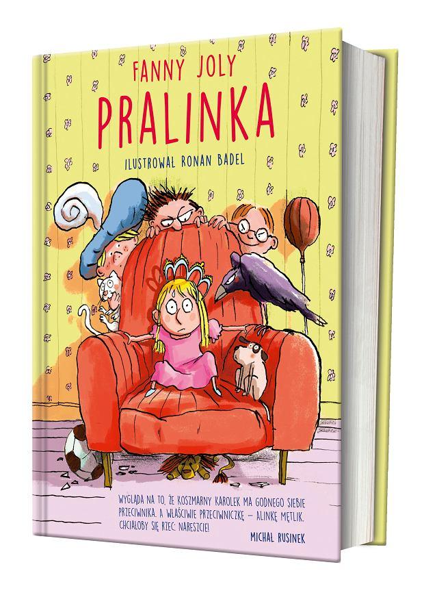 Pralinka, Fanny Joly, Znak emotikon - polska okładka książki