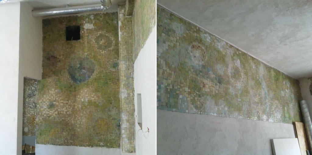 Podczas remontu lokalu w kamienicy przy ul. Nowy Świat 39 odkryto mozaiki.