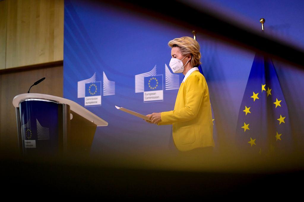 Szefowa KE Ursula von der Leyen została zaszczepiona. W piątek preparat przyjmie kanclerz Niemiec Angela Merkel