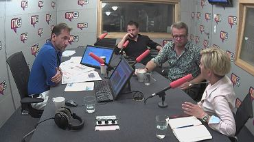 Gośćmi Piotra Kraśki byli dr Anna Materska-Sosnowska, Marcin Meller i Jacek Nizinkiewicz