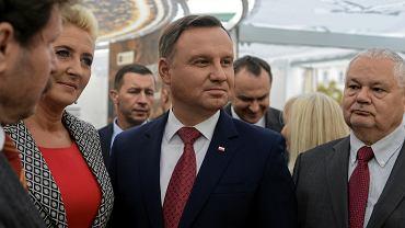 Andrzej Duda popiera drugą kadencję Adama Glapińskiego na stanowisku prezesa Narodowego Banku Polskiego
