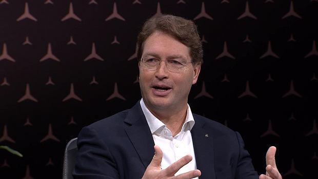 Ola Kallenius, prezes Daimler AG