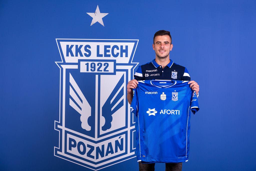 Djordje Crnomarković nowym piłkarzem Lecha Poznań