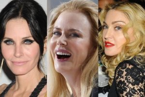 Courteney Cox, Nicole Kidman, Madonna