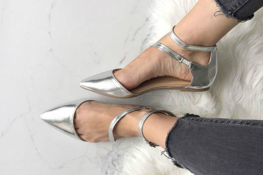 srebrne baleriny