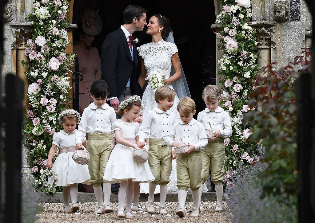 Ślub Pippy Middleton. Księżna Kate z dziećmi
