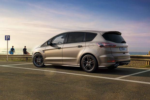 Ford S-Max i Galaxy po faceliftingu - lekkie odświeżenie i nowe silniki pod maską