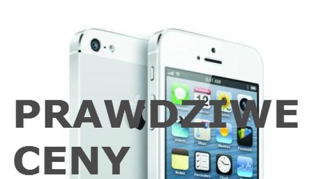 Obliczyliśmy ile naprawdę kosztuje iPhone 5
