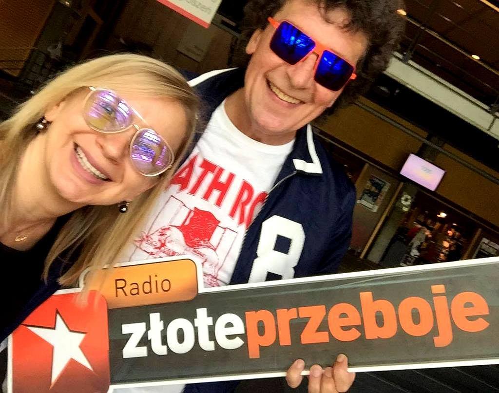 Marzena Rogalska i Janusz Panasewicz w Radiu Złote Przeboje