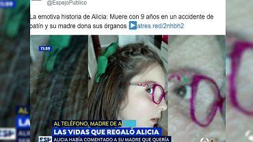 Tragiczna śmierć 9-latki uratowała życie dwojga dzieci