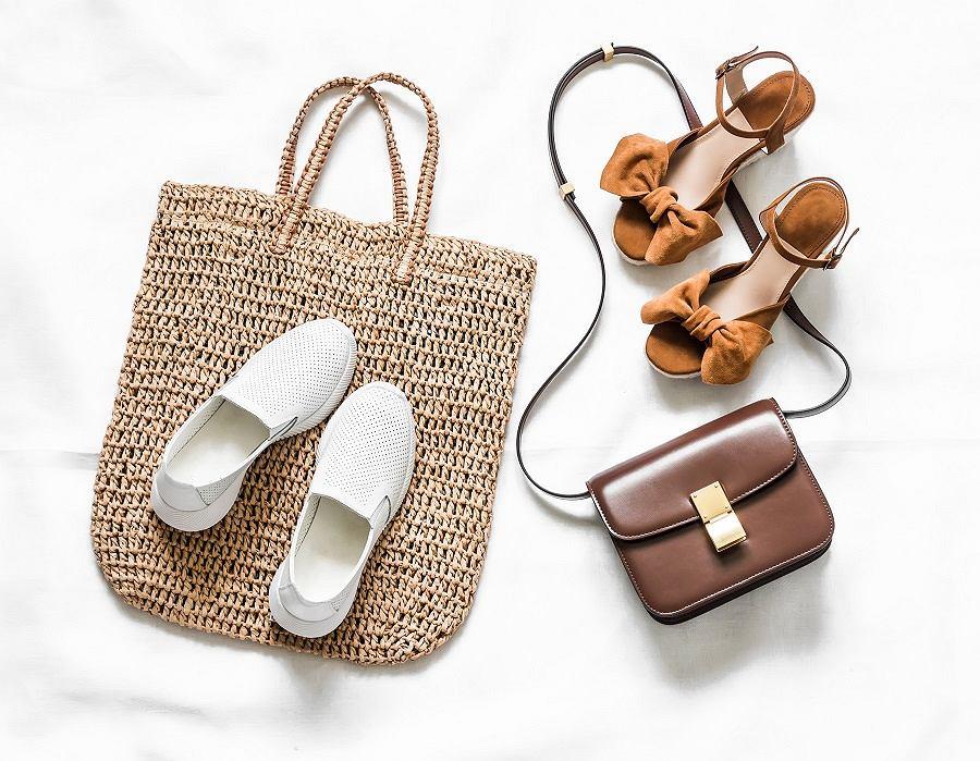 Przewiewne buty damskie na lato