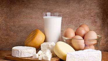 Żelazo jest obecne m.in. w produktach mlecznych