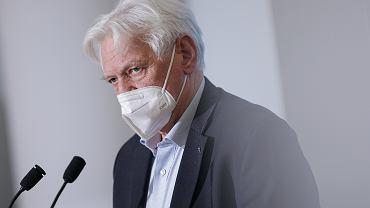 Profesor Andrzej Horban, główny doradca premiera ds. walki z COVID-19