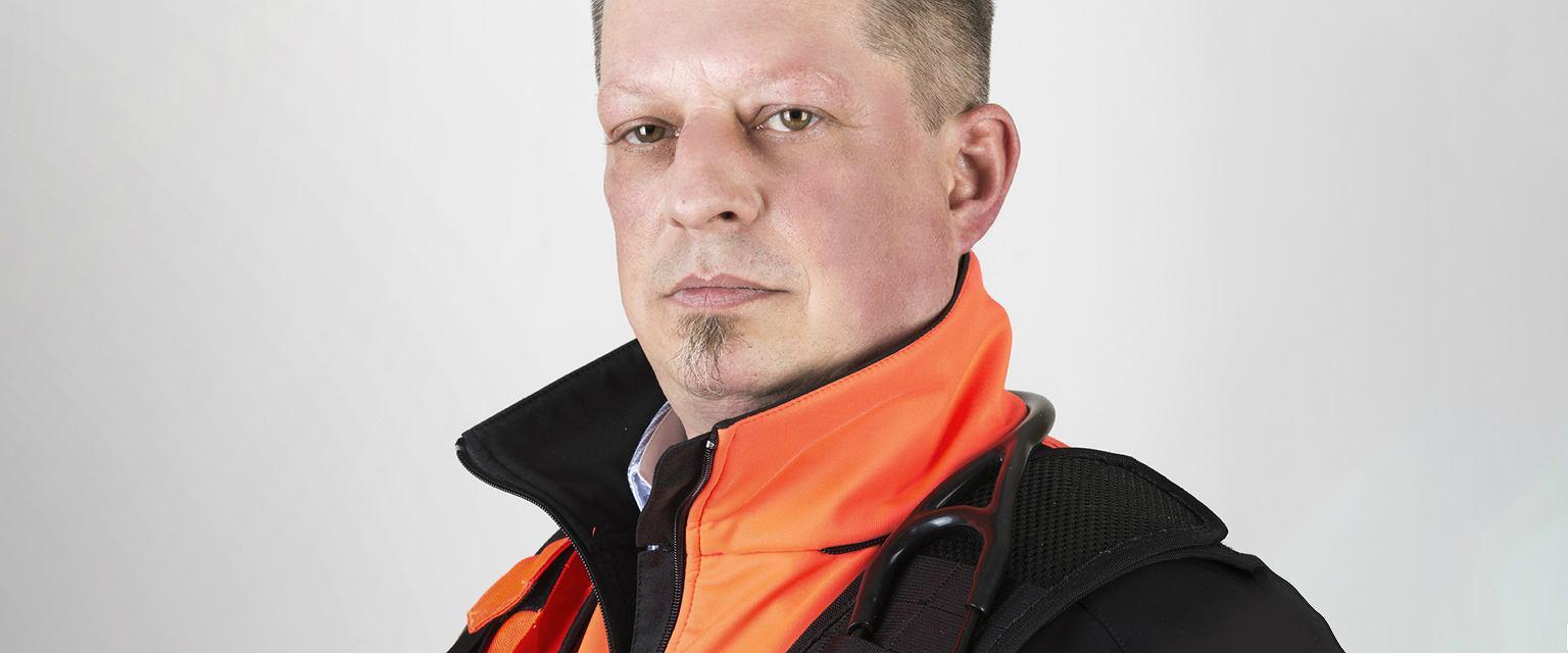 Roman Badach-Rogowski, ratownik medyczny z Wojewódzkiej Stacji Pogotowia Ratunkowego SPZOZ w Zielonej Górze (materiały archiwalne)