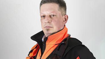 Roman Badach-Rogowski, ratownik medyczny z Wojewódzkiej Stacji Pogotowia Ratunkowego SPZOZ w Zielonej Górze