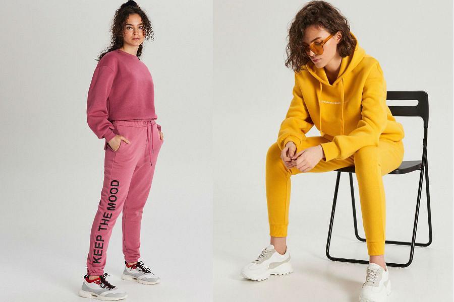 modne spodnie dresowe damskie