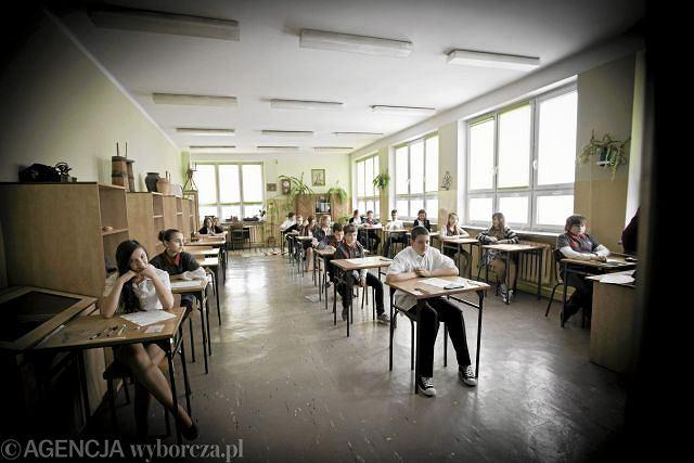 Sprawdzian szóstoklasisty w jednej z białostockich szkół