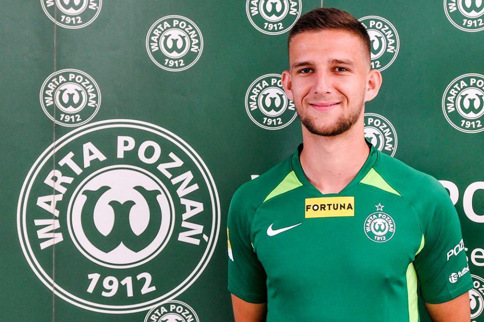 Krzysztof Kiklaisz piłkarzem Warty Poznań