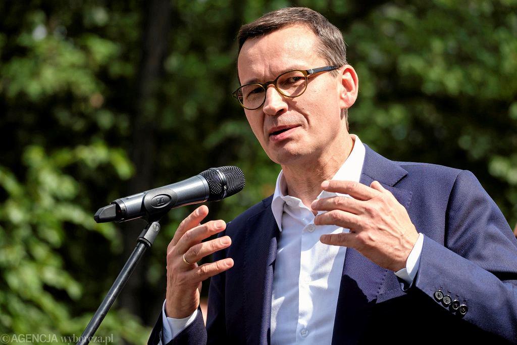 Premier Mateusz Morawiecki w czwartek przyjedzie do Rzeszowa