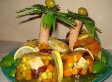 Galaretka meksykańska pod palmami - ugotuj