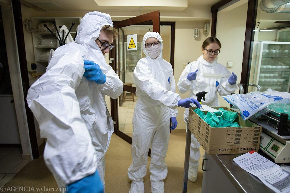Instytut Chemii Bioorganicznej PAN w Poznaniu. To tu powstał pierwszy polski test do wykrywania koronawirusa