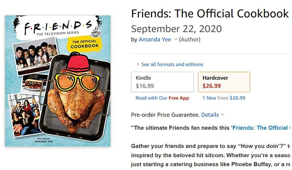 Są tu fani 'Przyjaciół'? Powstaje książka kucharska inspirowana przepisami z serialu