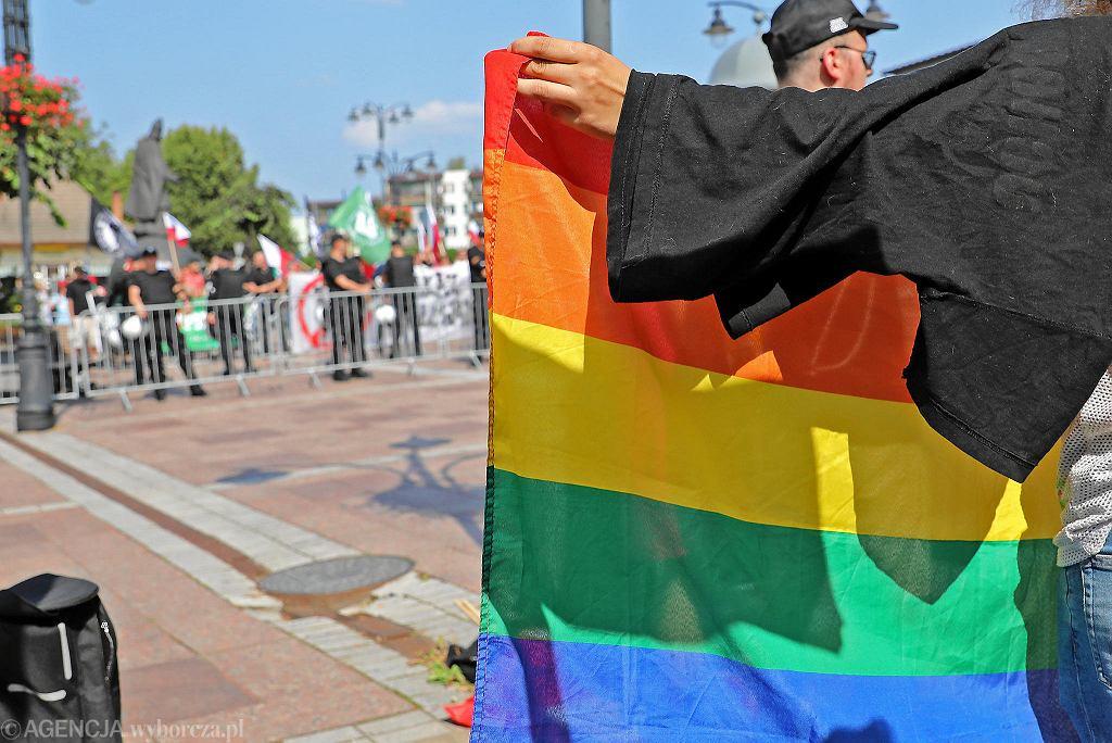 Pierwszy w Rabce Marsz Równości. Była również kontrmanifestacja ONR i MW