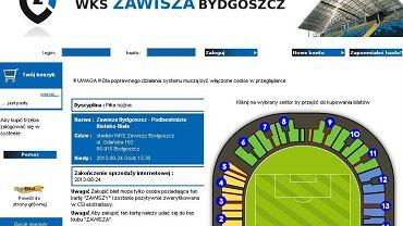 Strona kupbilet.pl