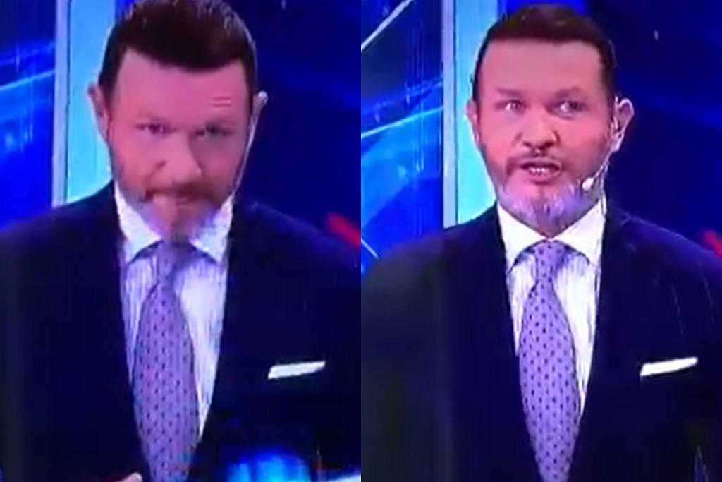 Radosław Majdan w TVN24