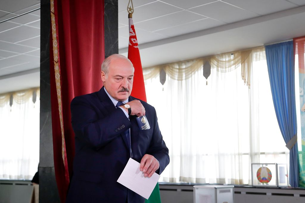 Białoruś, prezydent Alaksandr Łukaszenka.