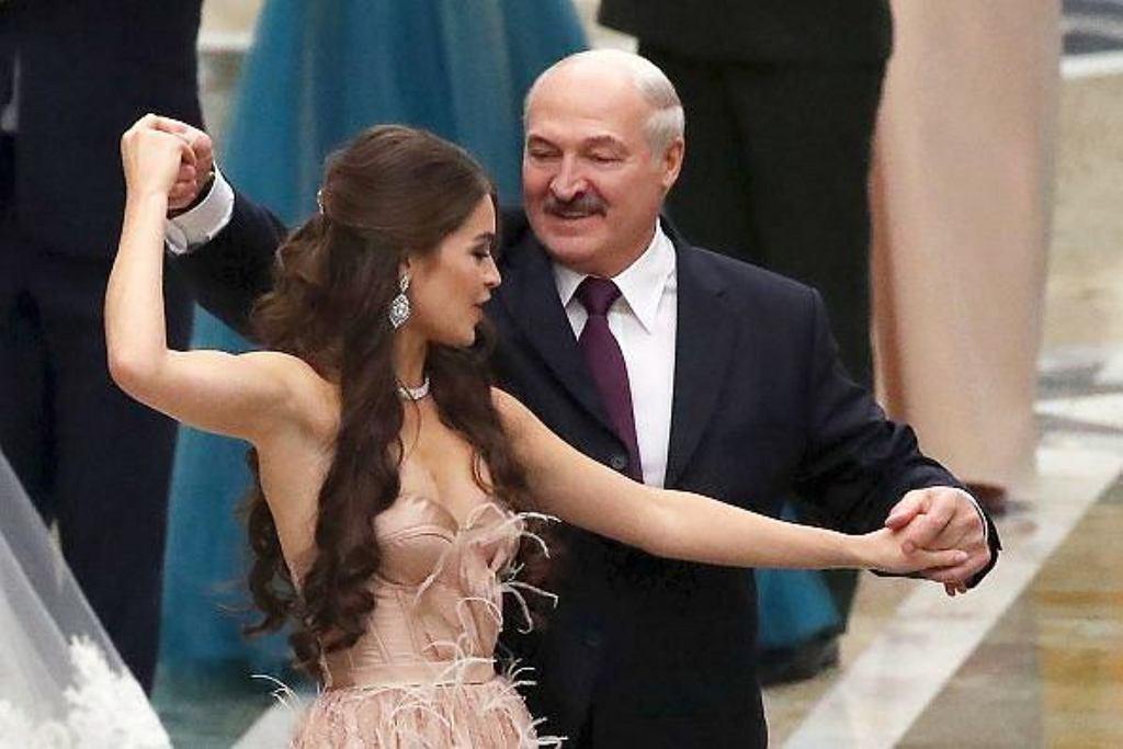 Aleksandr Łukaszenka i Miss Białorusi