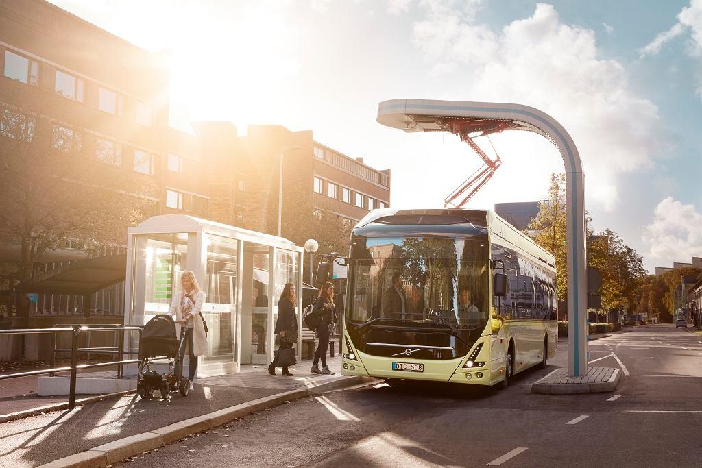 Autobusy elektryczno-hybrydowe Volvo